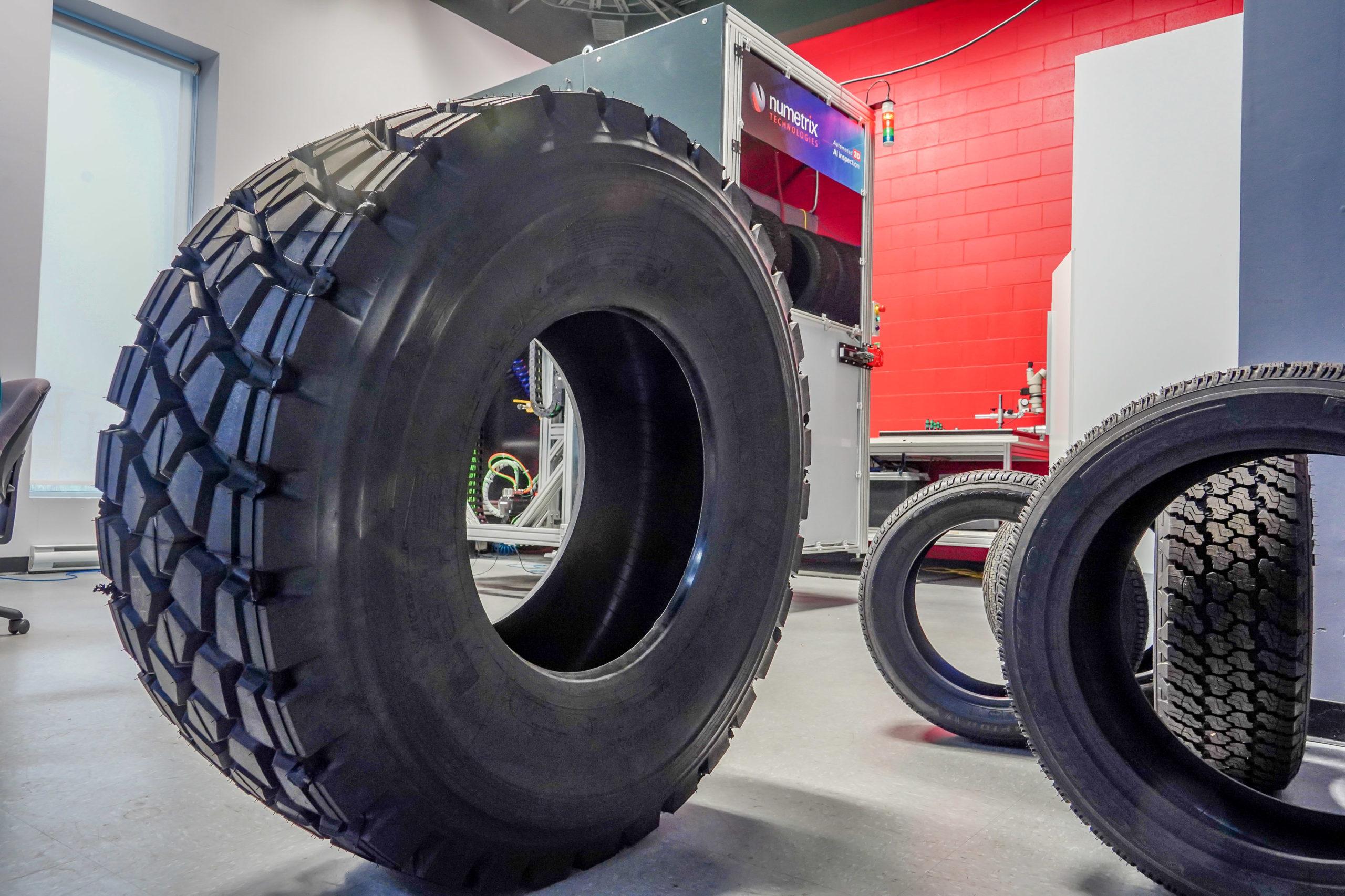 Conçu pour l'industrie du pneu et du caoutchouc