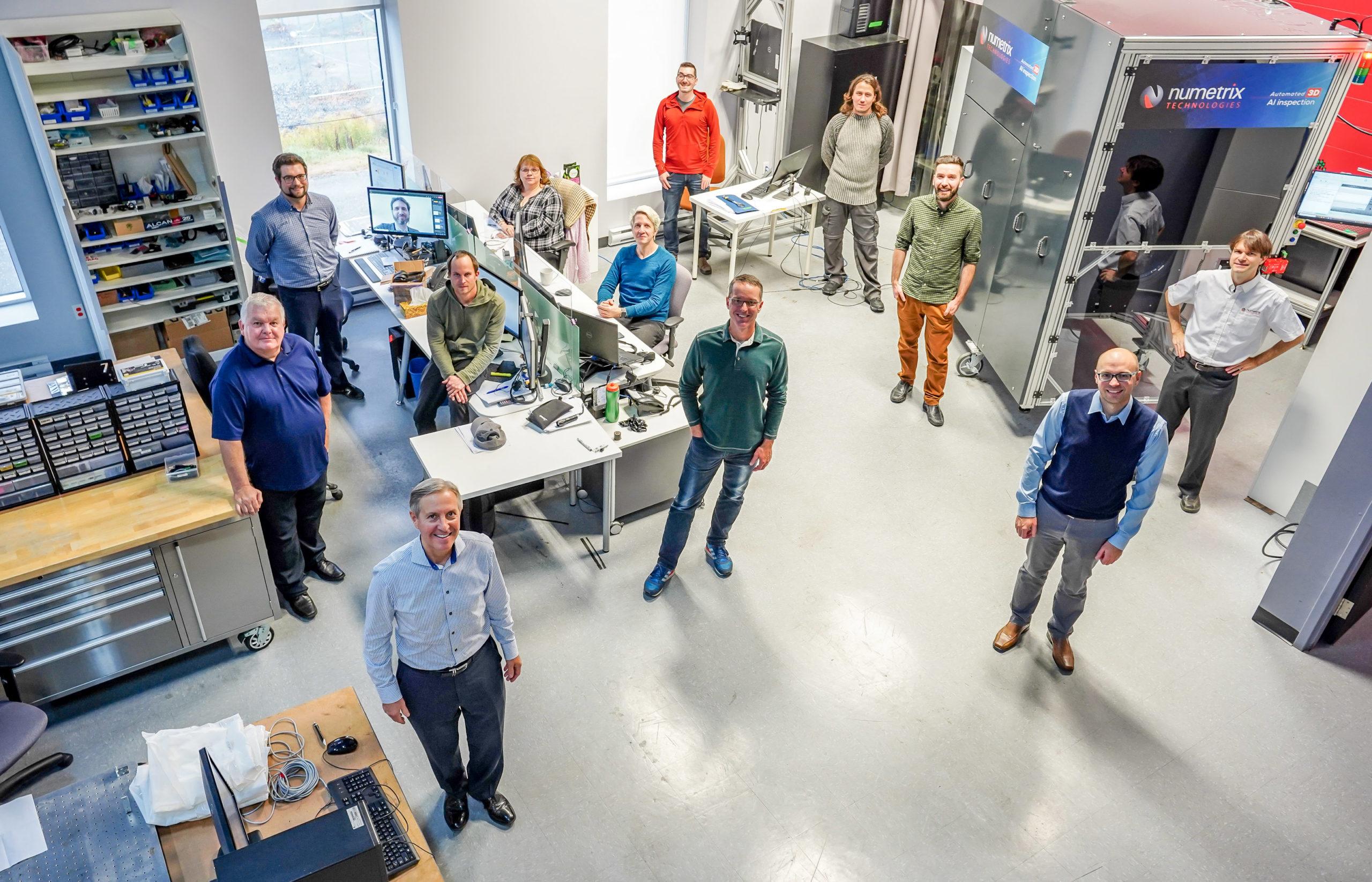 Équipe de Numetrix Technologies